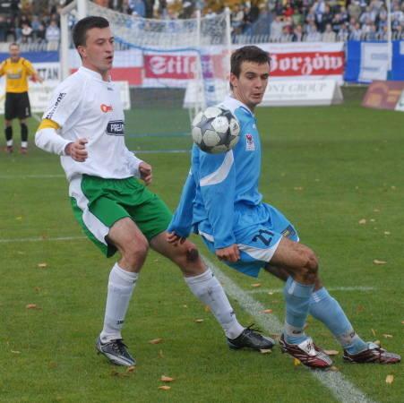 Z niecierpliwością czekamy na kolejne trafienie Emila Drozdowicza. Napastnik GKP ostatni raz zdobył gola 29 września, gdy pokonał bramkarza GKS-u Ka