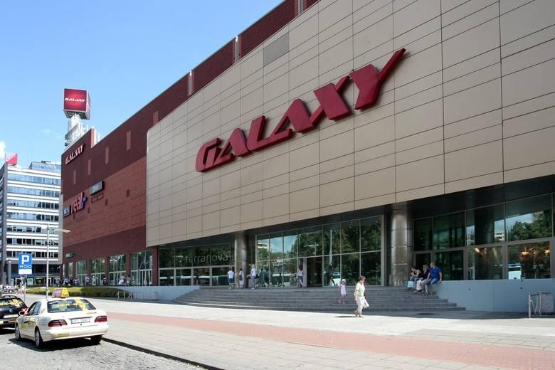 Centrum Handlowo Rozrywkowe Galaxy zamknięte do odwołania
