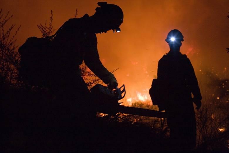 Pożar wybuchł w Jazgarce