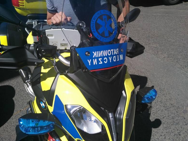 Wojewódzka Stacja Pogotowia Ratunkowego w Bydgoszczy wzbogaciła się właśnie o drugi motocykl ratunkowy. Jest nowy, bezpieczniejszy i mocniejszy.Jest
