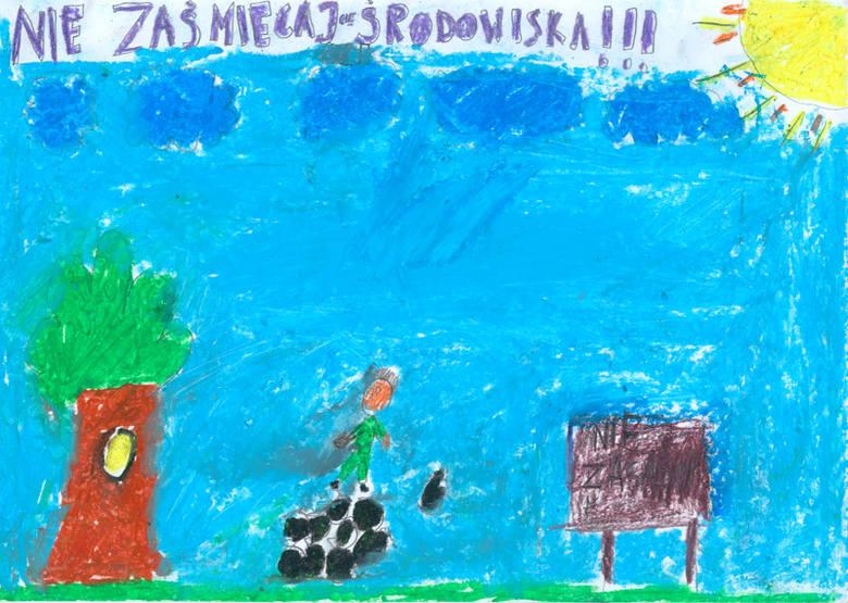 """Przeslanie od dzieci dla doroslychSpecjalnie dla Nowin trzecioklasiści z rzeszowskiej """"dwudziestki piątki"""" narysowali przeslania dla doroslych."""