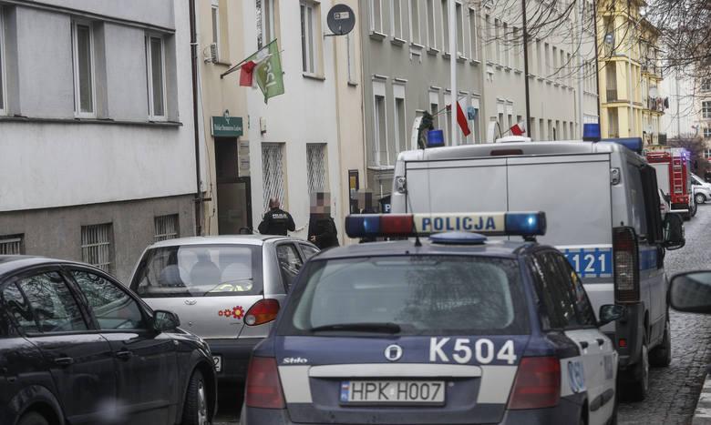Ewakuacja siedziby rzeszowskiego PSL. W budynku miała być bomba.WIĘCEJ: Budynek PSL w Rzeszowie ewakuowany. Jest informacja o bombie