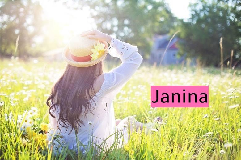 Kobiet o imieniu Janina w naszym kraju (wg numeru PESEL) jest 578 820