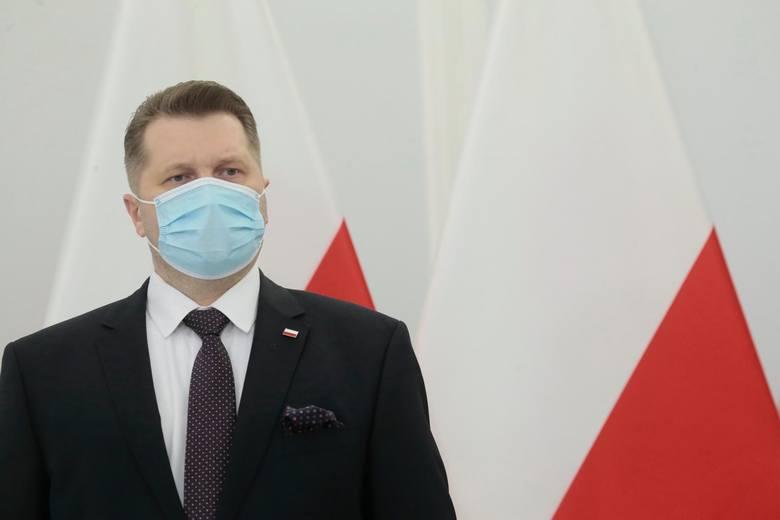 Minister Przemysław Czarnek