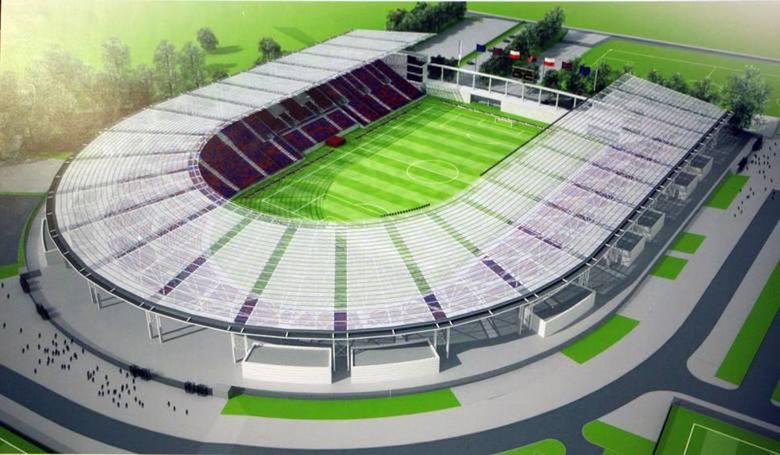 Projekt przebudowy stadionu władz miasta