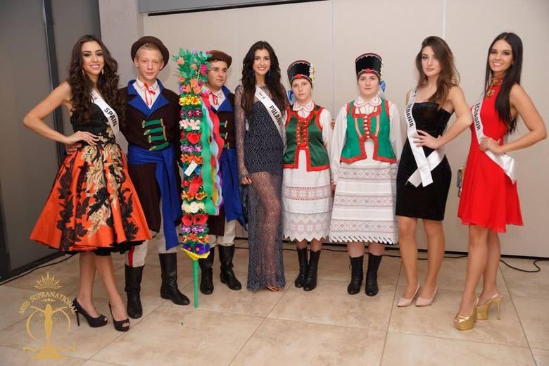 Kurpie wystąpili dla kandydatek na Miss Supranational 2016