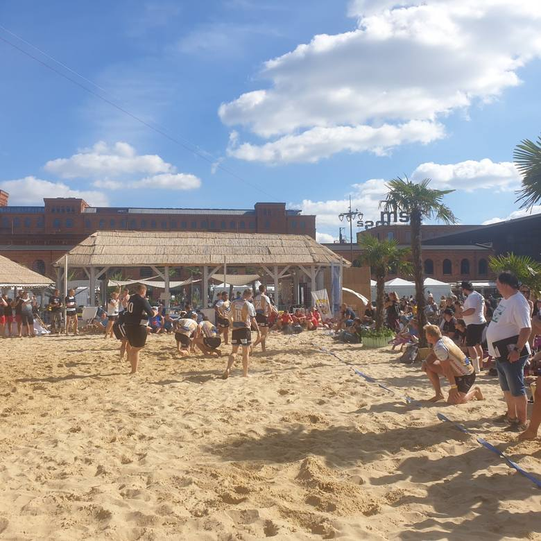 Bierhalle Manufaktura Beach Rugby. Triumf siedlczan