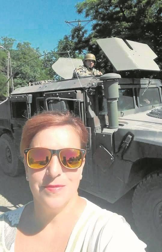 Chełmnianka Ewa Turzyńska-Mróz pojechała nad Wisłę, aby uwiecznić w obiektywie siły NATO - żołnierzy i ich sprzęt.