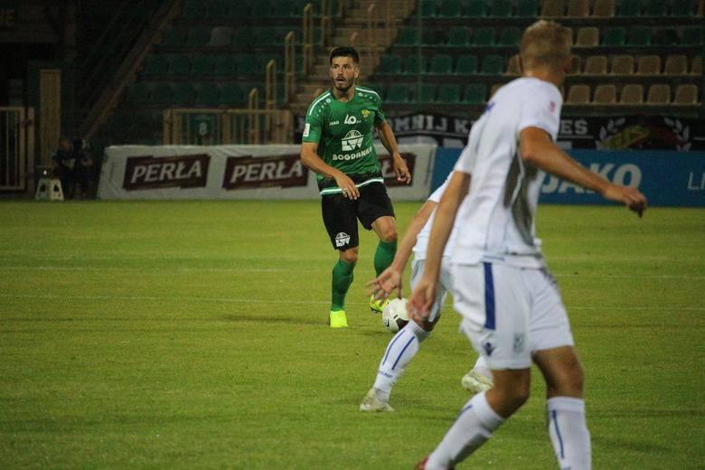 Na zdjęciu w zielonej koszulce Kamil Pajnowski