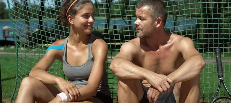Córka trenera - kadr z filmu