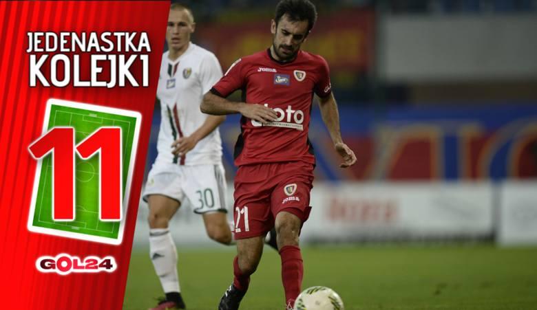Jedenastka 25. kolejki LOTTO Ekstraklasy według GOL24 [GALERIA]