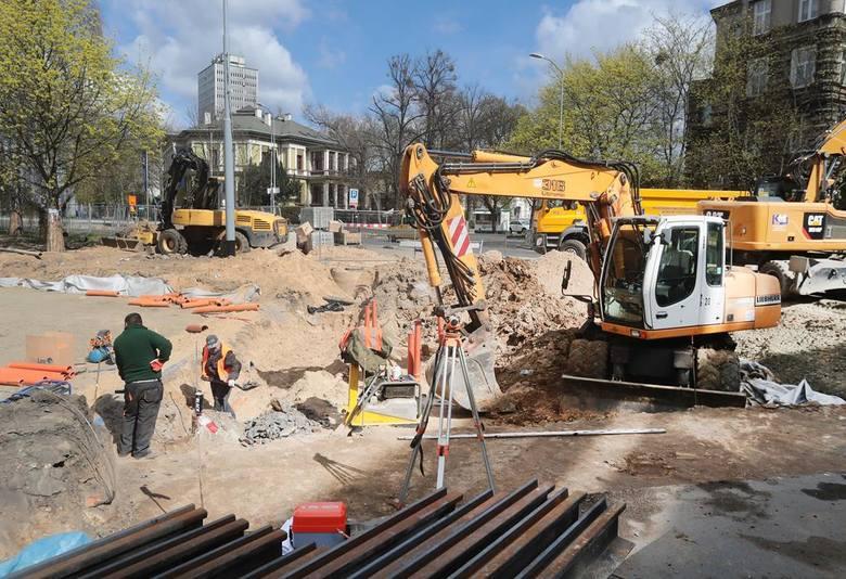 Przebudowa placu Szarych Szeregów w Szczecinie. Sprawdzamy stan prac