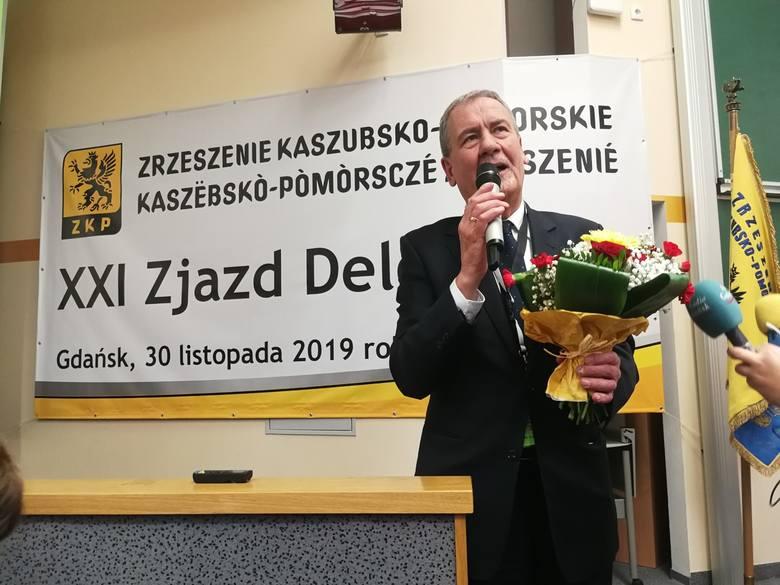 Zrzeszenie Kaszubsko-Pomorskie ma nowego prezesa. Przez najbliższe 3 lata będzie mu przewodził Jan Wyrowiński [ZDJĘCIA]