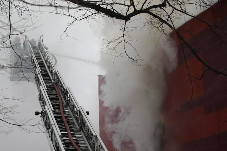 Kraków. Prokurator bada, czy za pożarem archiwum stoi błąd człowieka, wadliwy system przeciwpożarowy, a może podpalacz?