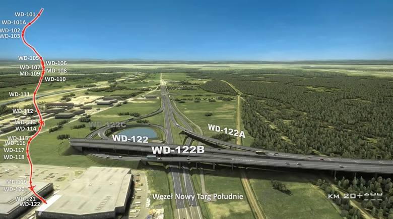 Wizualizacje, jak w przyszłości będzie wyglądać droga krajowa nr 47 czyli popularna zakopianka od Rdzawki do Nowego Targu. Na tym około 17-kilometrowym
