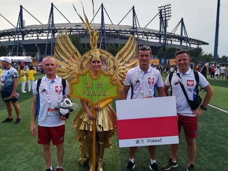 Andrzej Szpunar z Komendy Miejskiej Państwowej Straży Pożarnej w Rzeszowie zdobył złoty medal w Chinach [ZDJĘCIA]