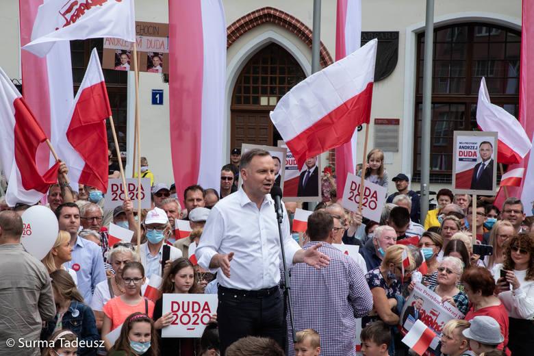 Andrzej Duda w Stargardzie. Fotorelacja z 3 lipca