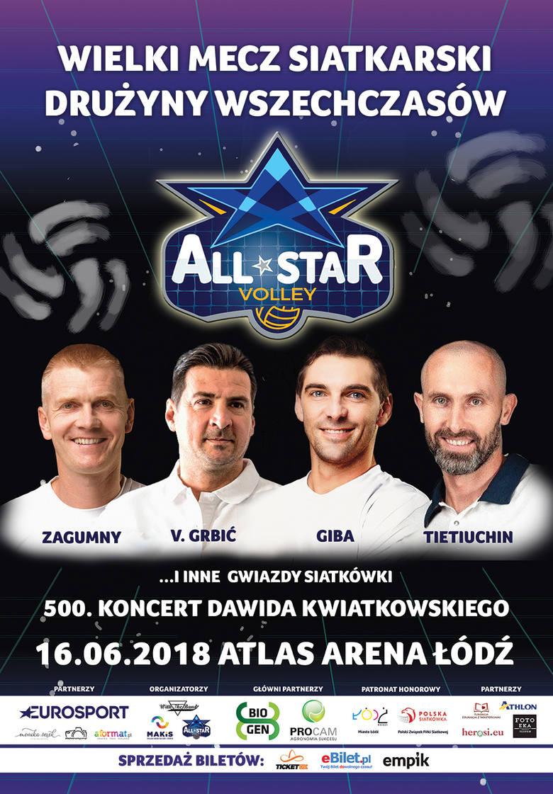 AllStar Volley Show odbędzie się 16 czerwca na Atlas Arenie