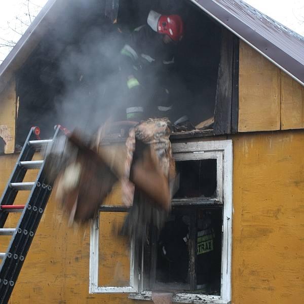 Strażakom szybko udało się stłumić ogień