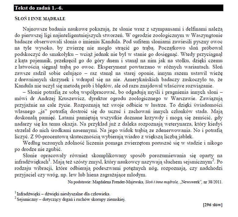 Sprawdzian szóstoklasisty 2015. Język polski i matematyka. Są już arkusze CKE! (SPRAWDŹ ODPOWIEDZI)