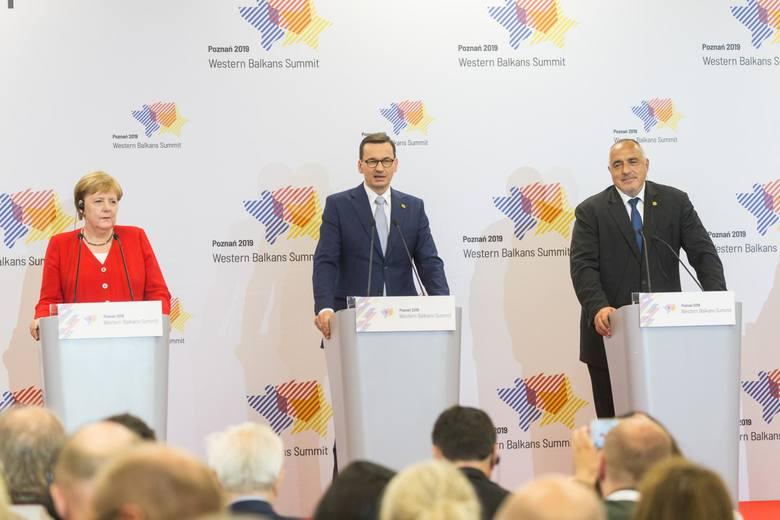 Szymon Szynkowski vel Sęk odpowiadał za organizację Szczytu Bałkanów Zachodnich w Poznaniu.