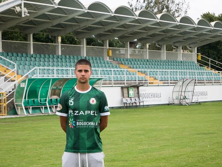 18-letni Eryk Ciemierkiewicz to kolejny nowy piłkarz w kadrze Izolatora