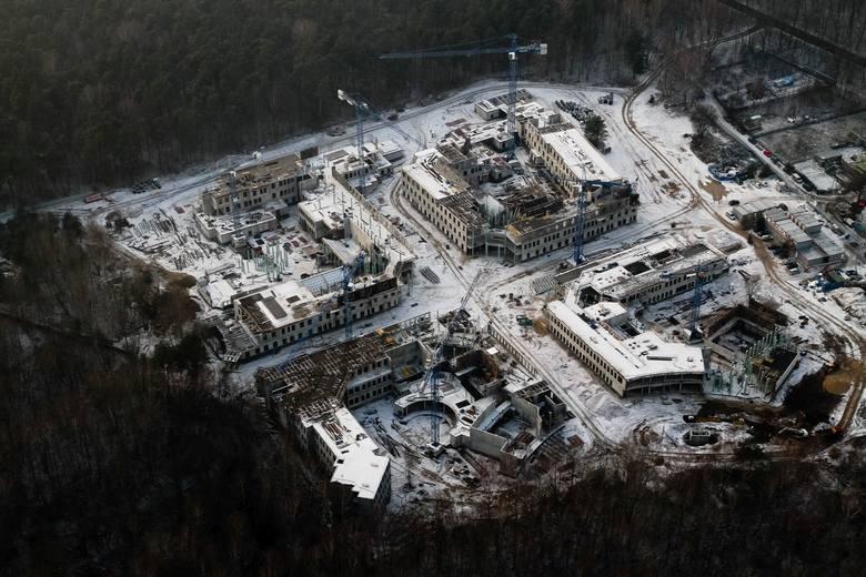 Budowa kampusu UwB.