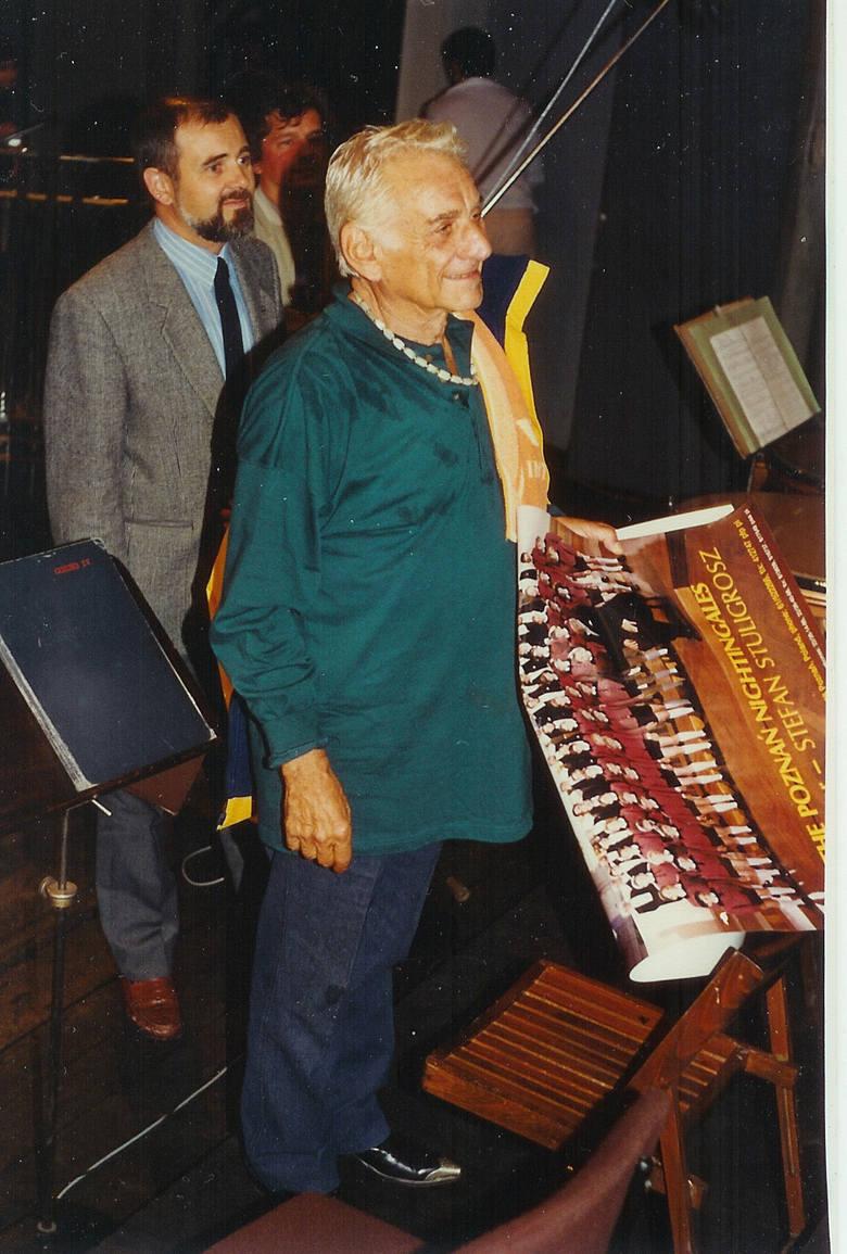 Tak było 25 lat temu. Leonard Bernstein i Wojciech Grottel