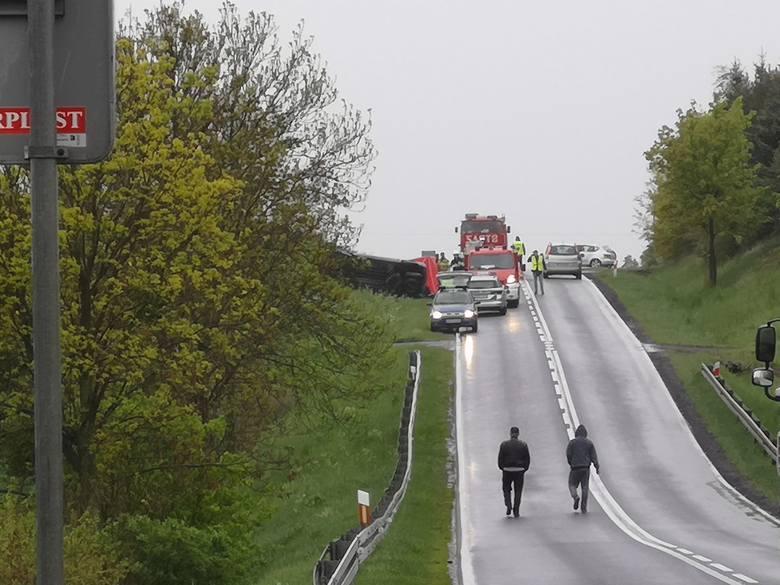 Kolejna tragedia na drogach naszego regionu. Dyżurny policji otrzymał informacje o zdarzeniu na drodze krajowej nr 55 w miejscowości Wabcz (powiat chełmiński).
