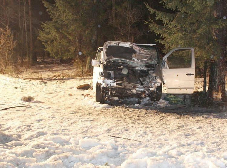 Śmiertelny wypadek w mercedesie. Policja szuka świadków (zdjęcia)