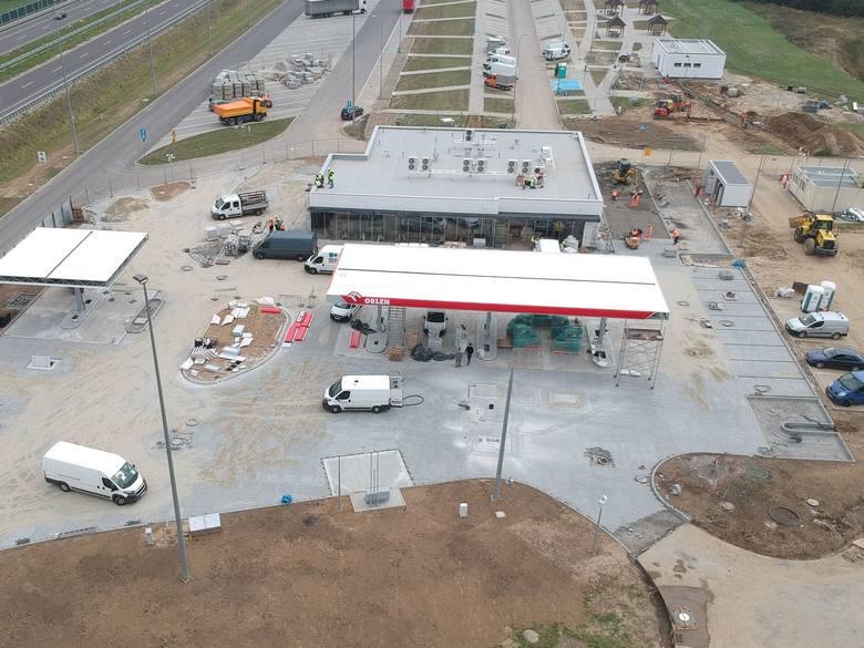 Przy MOP-ie Palikówka koło Łańcuta trwa budowa stacji paliw, obiektów gastronomicznych i hotelowych. Aktualnie na podkarpackim odcinku autostrady A4
