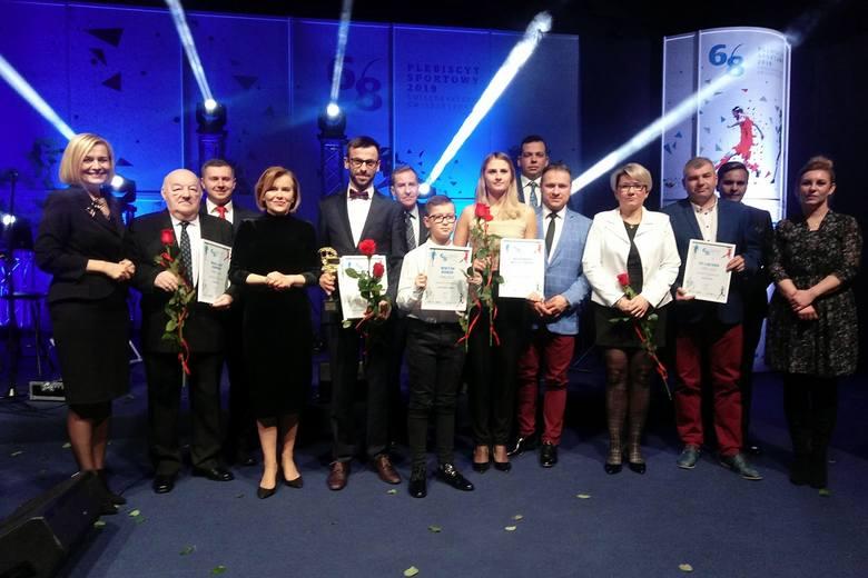 Najpopularniejsi ludzie sportu powiatu skarżyskiego odebrali wyróżnienia na gali Plebiscytu Sportowego Echa Dnia w Kielcach