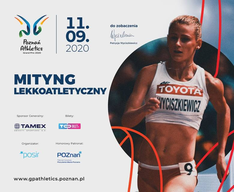 Patrycja Wyciszkiewicz-Zawadzka wreszcie pobiegnie w miejscu, w którym mieszkała i trenowała w czasie nauki w szkole średniej