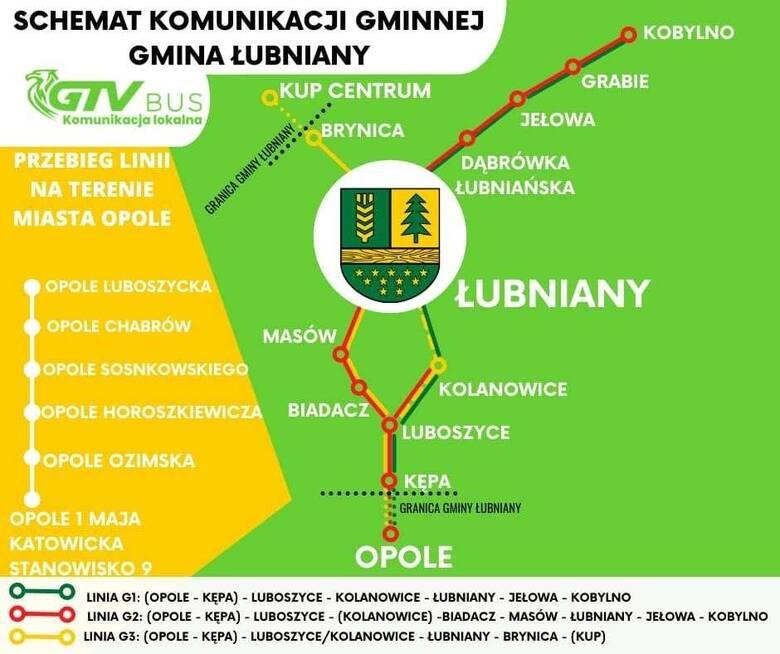 Gmina Łubniany wprowadza nową bezpłatną komunikację. Połączy 11 sołectw