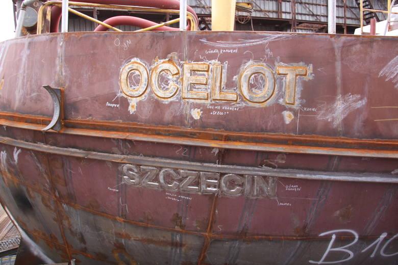 """""""Ocelot"""" i """"Tarpan"""" nabierają kształtów i wkrótce przypłyną do Szczecina"""
