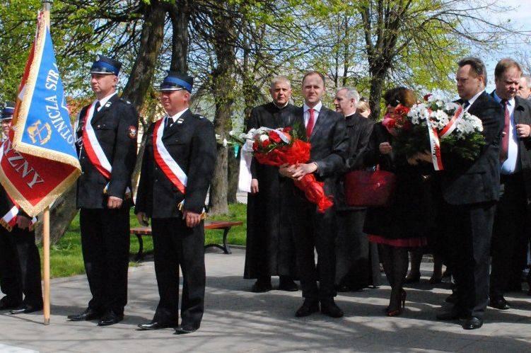 Choroszcz. Posłowie PO i PiS razem świętowali rocznicę uchwalenia Konstytucji 3 Maja (zdjęcia)