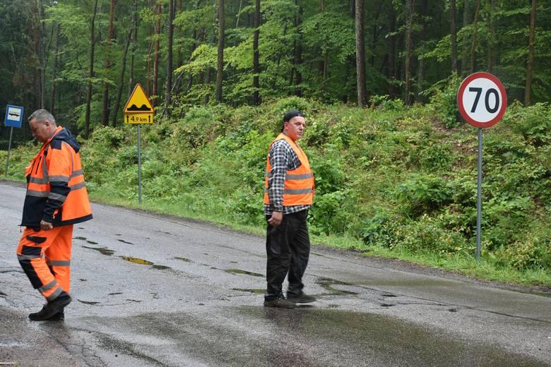 Wkrótce powstanie nowa droga do Popowa (zdjęcia)