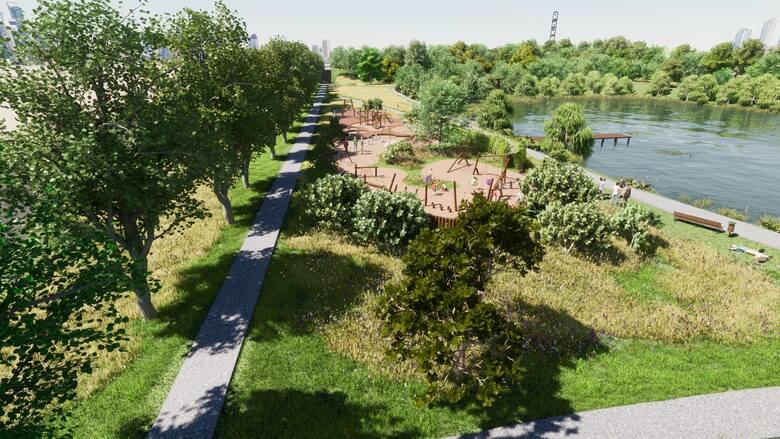 Nowy park w Katowicach. Jest już koncepcja, na podstawie której będzie realizowany