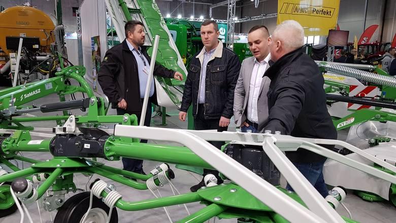 Na Agro Show SaMASZ prezentował maszyny zielonkowe i komunalne