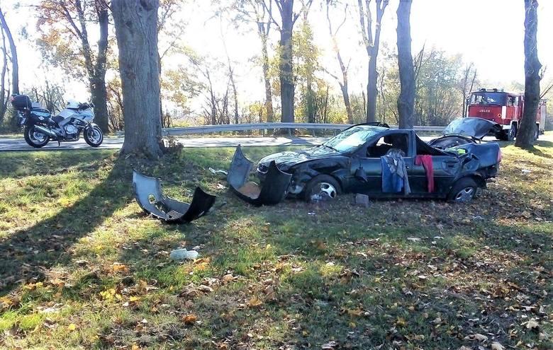 Zgłoszenie o wypadku wpłynęło do strażaków o godz. 11:37. Na drodze krajowej nr 19, w miejscowości Boćki samochód osobowy wypadł z drogi.Zdjęcia pochodzą