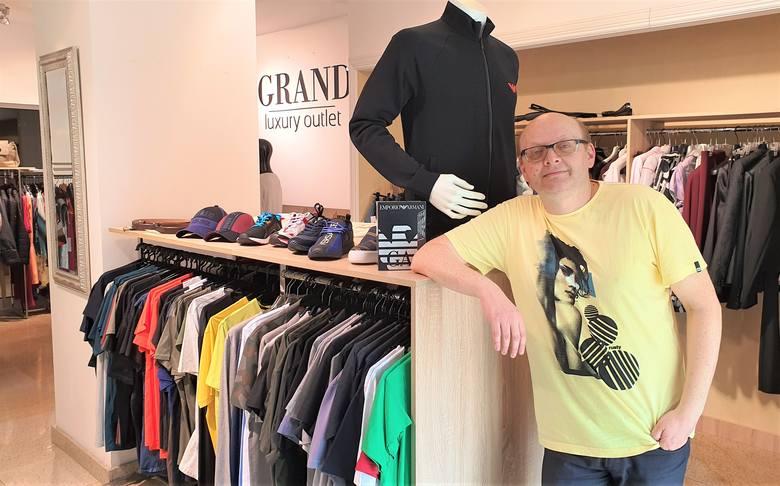 Jarosław Panek, właściciel kieleckiego outletu Grand w hotelu Best Western Grand zaprasza na pierwsze zakupy już 2 maja.