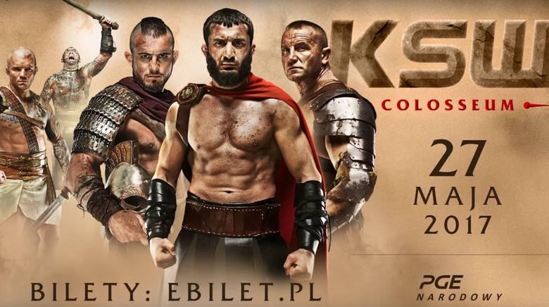 KSW 39: Colosseum - Zobacz oficjalny trailer! [WIDEO]