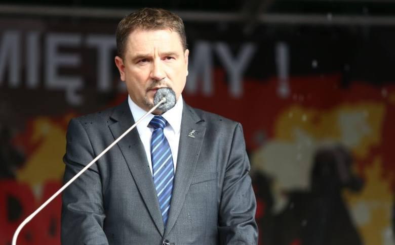 - Czerwiec zaowocował Sierpniem – mówił Piotr Duda pod pomnikiem.