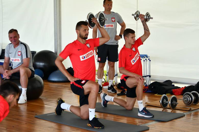 Euro U-21. Kadra Czesława Michniewicza trenowała w Grodzisku [GALERIA]