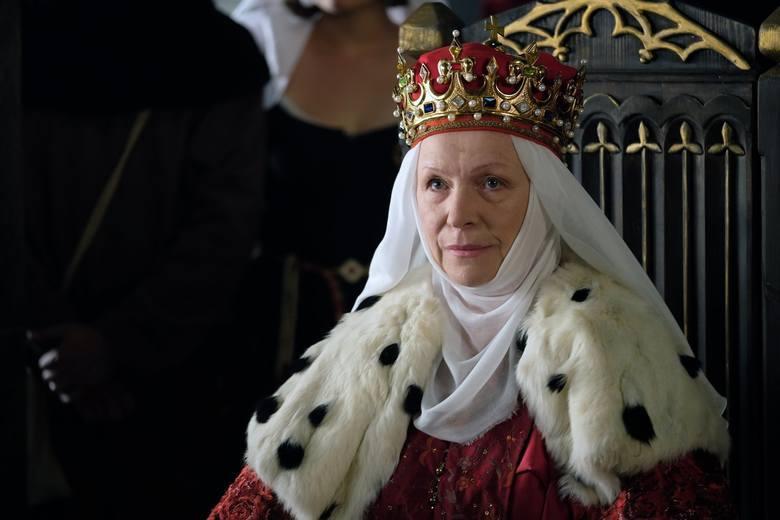 W roli Jadwigi, królowej Polski, możemy podziwiać Halinę Łabonarską. Jadwiga była żoną Władysława Łokietka.