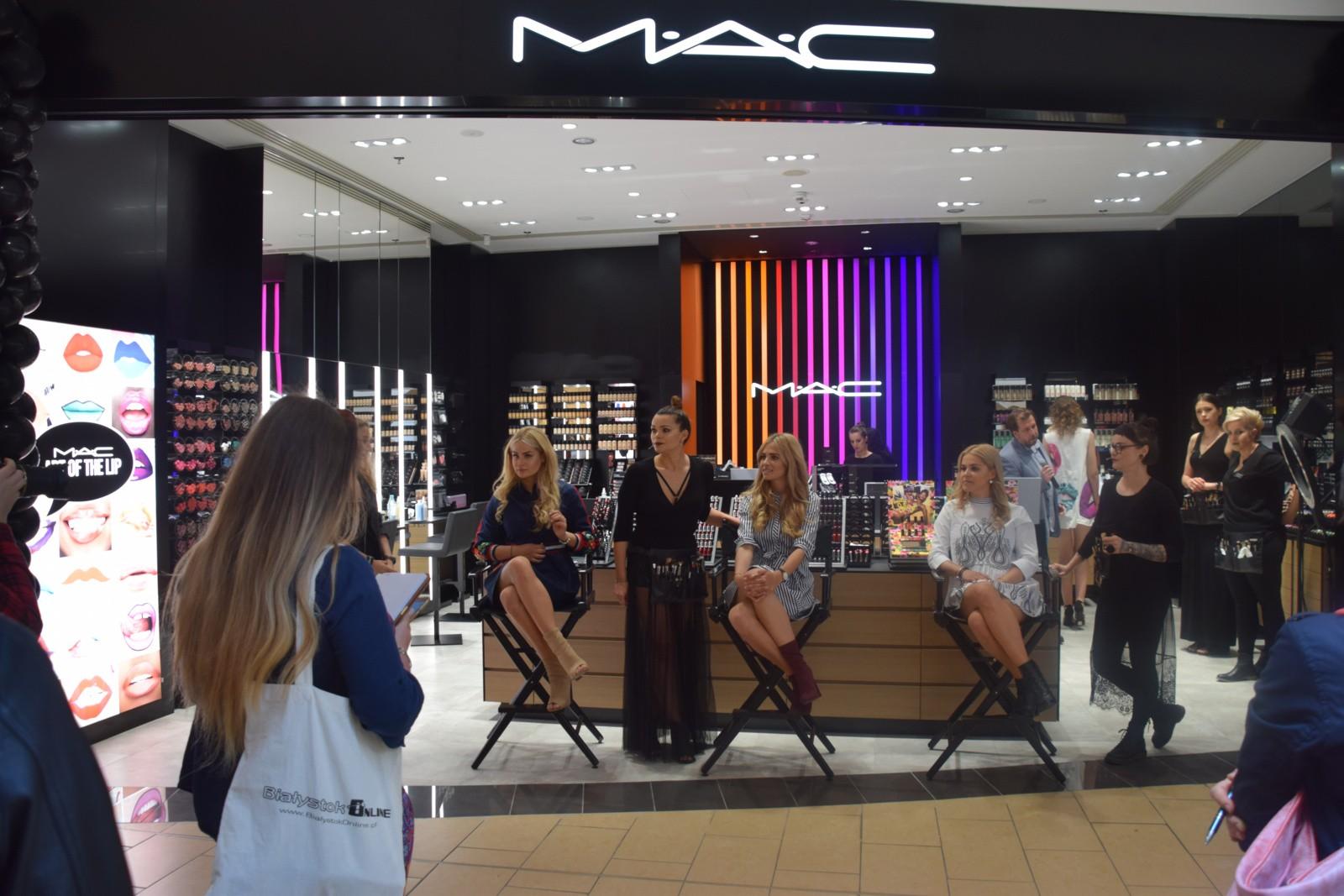 Otwarcie salonu mac cosmetics w galerii alfa by y siostry for R b salon coimbatore