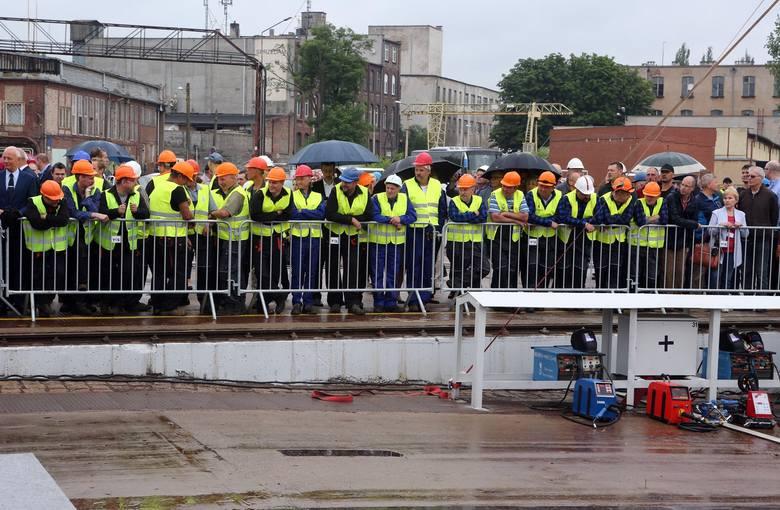 Położono stępkę pod budowę pierwszego statku w Stoczni Szczecińskiej