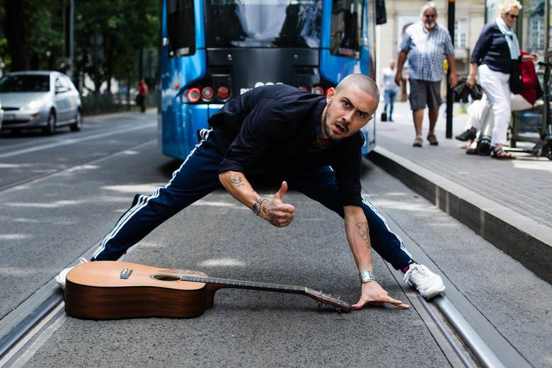 Zwariowany Deliryk - krakowski artysta tramwajowy
