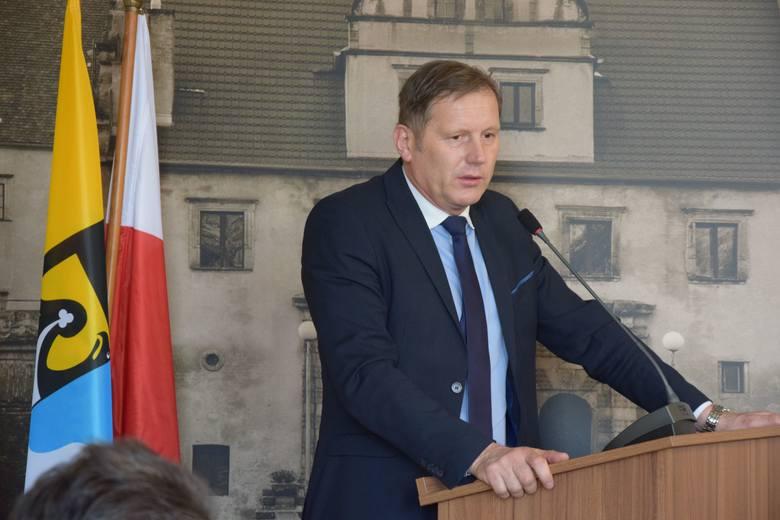 Sesja rady powiatu nowosolskiego, 22 lutego 2019 r.<br /> Andrzej Ziarek