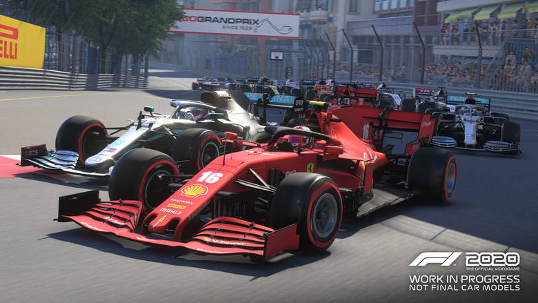 Zobacz, jak Gasly jedzie po wirtualnym Monako w F1 2020